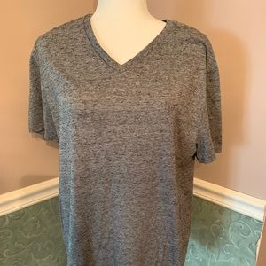 16b40d73 American Eagle Outfitters Shirts | Ae Dark Grey V Neck Tee | Poshmark